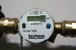 Techem Wasserzähler