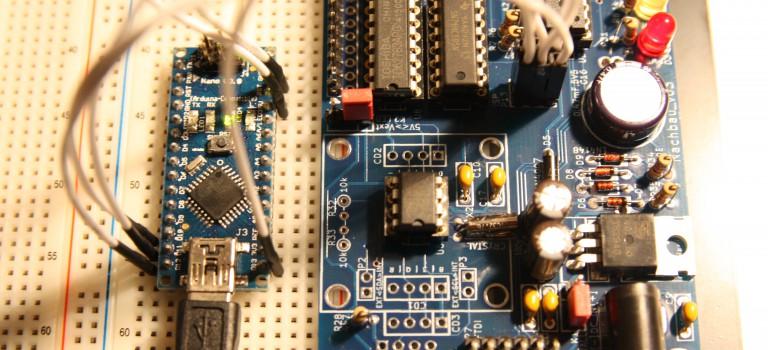 Arduino als AVR ISP zum Brennen des Bootloader